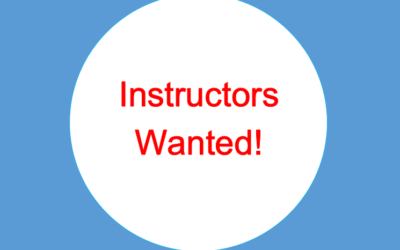 Instructors Wanted!